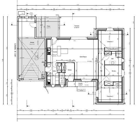 plan maison 3 chambres plan maison 3 chambres plan achat maison neuve construire