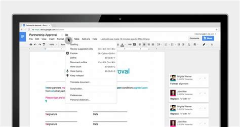 Google Docs Updated With More Collaborative Features ...