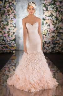 blush colored wedding dress 5 bridal gown trends for 2014 treasured garment restoration