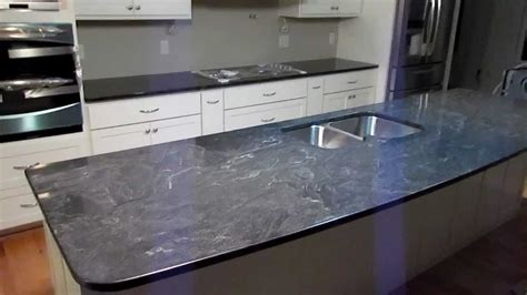 jet mist custom granite counter top installed