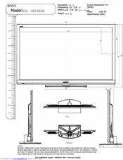 Sony Kdl 46ex600 Schematic Diagram