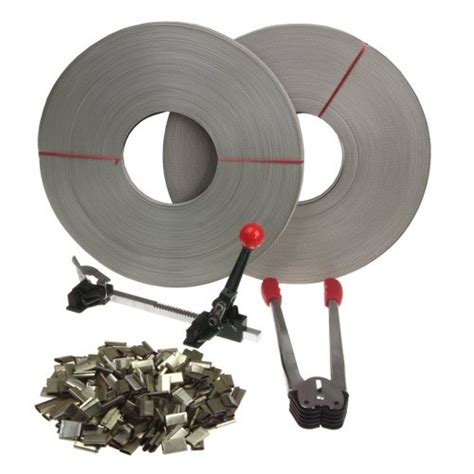 strapping banding tool kit seals strap roll