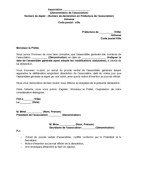 demission du bureau d une association loi 1901 modele lettre de demission association 1901 document