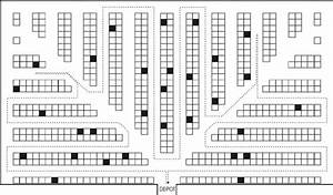 Example Of Picking Route In Examined Fishbone Layout