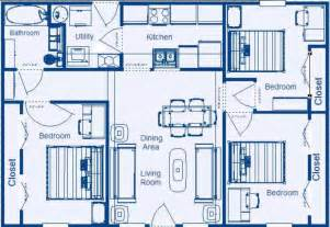 simple four bedroom house plans simple house plans 4 bedrooms speedchicblog