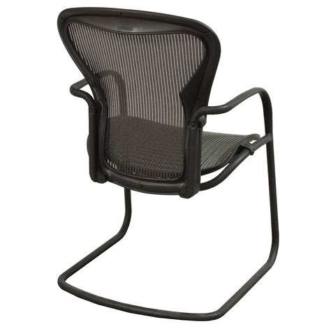 herman miller aeron used side chair nickel national