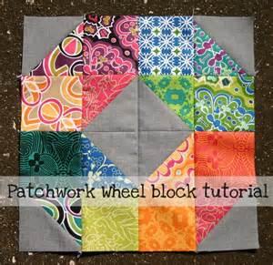 patchwork design patchwork wheel quilt block tutorial by elizabeth dackson craftsy