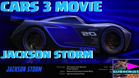 Disney Pixar's Cars 3 Movie