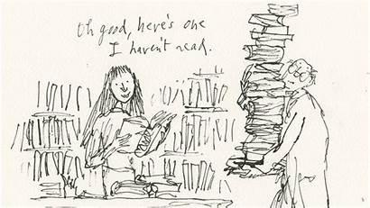 Matilda Blake Quentin Library Roald Dahl Illustrations