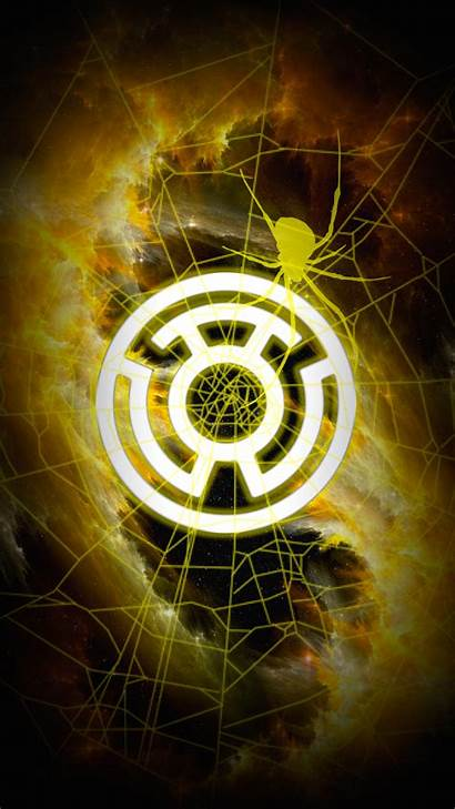 Corps Sinestro Lantern Yellow Wallpapers Fear Iphone