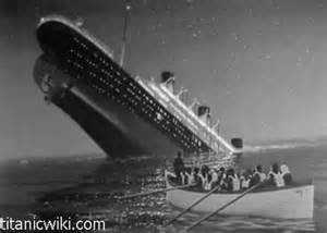 When Did The Ship Lusitania Sink by How Did The Titanic Sink Pictures Of The Titanic Sinking