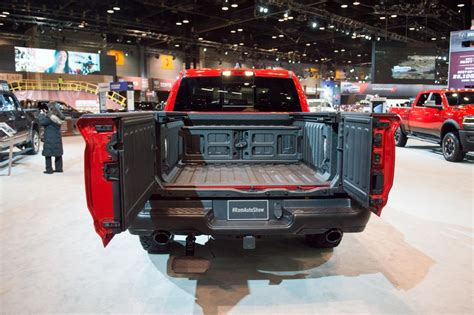 rams multifunction tailgate  open  french doors