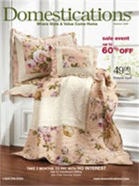 domestications bedding catalog all free magazines request free magazines subscriptions