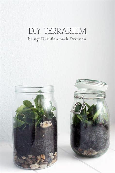 Terrarium Im Glas by Diy Terrarium Kleiner Garten Im Glas Diy Einfach