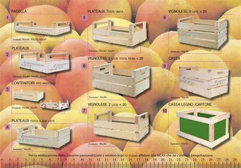 Cassette Frutta Legno Dimensioni by Silas S R L Imballaggi In Legno Per Frutta Verdura E