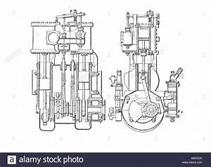 Car Engine Diagram Stock Photos  U0026 Car Engine Diagram Stock