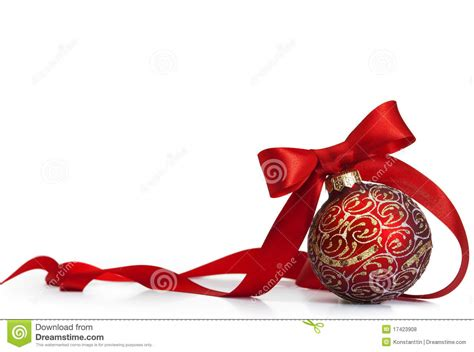 red christmas bal royalty free stock photos image 17423908