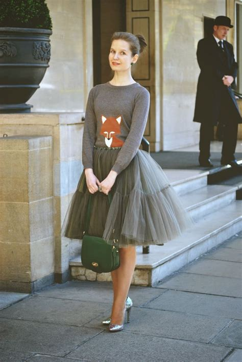 wear tulle skirt cute outfits  tulle skirts