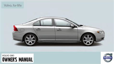 car repair manuals download 2008 volvo s80 navigation system 2008 volvo s80