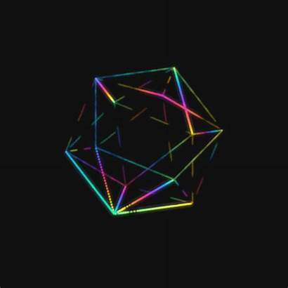 Gifs Trippy Isometric Gem Colorful Isopoly Geometric