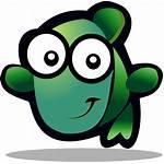 Svg Gartoon Icon Bluefish Greenfish Apps Icons