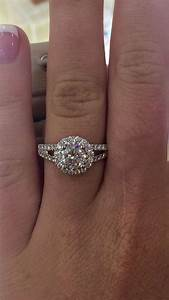 round costco engagement ring rings pinterest halo With wedding rings at costco