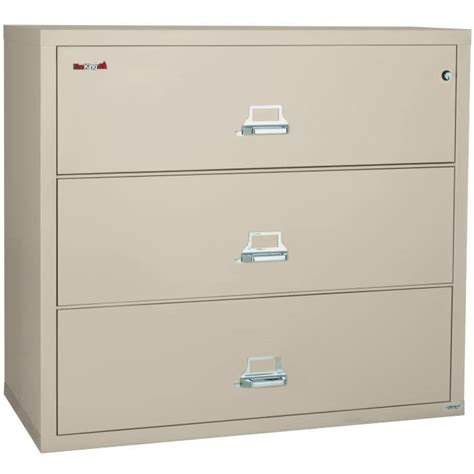 Three Drawer Filing Cabinet Dimensions by Fireking 3 3122 C 31 Quot Wide Lateral File Cabinet With 3 Drawer