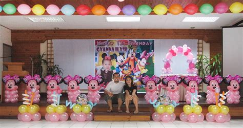 minnie mouse theme birthday party decoration  sacred