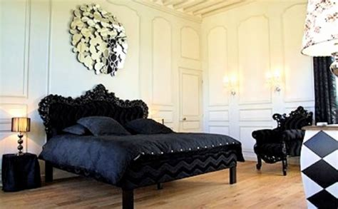 chambre baroque noir et blanc décoration baroque tout savoir sur le style baroque dans