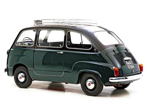 Fiat Multipla 600 by 1960 Fiat 600 Multipla Silodrome