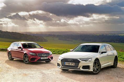 A simplified car shopping experience. Audi A6 Avant vs Mercedes E-Class Estate | Auto Express