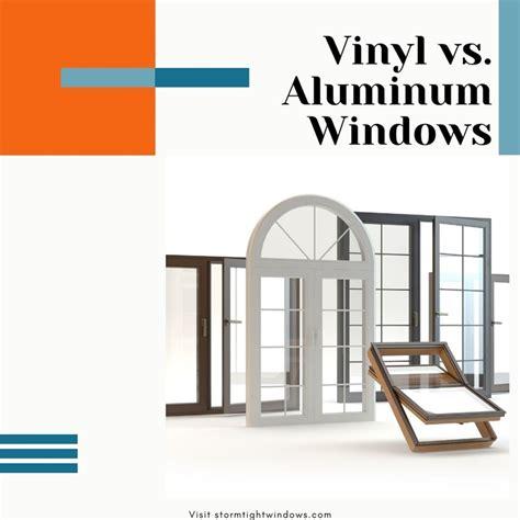 vinyl  aluminum windows