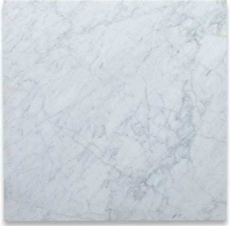 carrara white 24 x 24 tile polished marble from italy