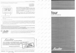 Notice Four Sauter : notice four sauter 9891mp1 et pi ces d tach es thermostat grille moteur joint resistance ~ Dallasstarsshop.com Idées de Décoration