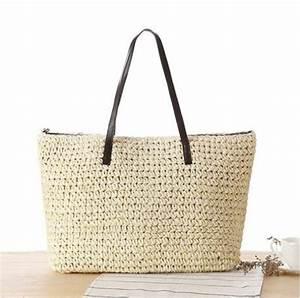 Sac En Paille Original : sac de plage pour les vacances au soleil mon bagage cabine ~ Melissatoandfro.com Idées de Décoration