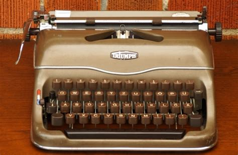 Triumph Schreibmaschine Wert by Triumph Norm 6 Typewriters Ch