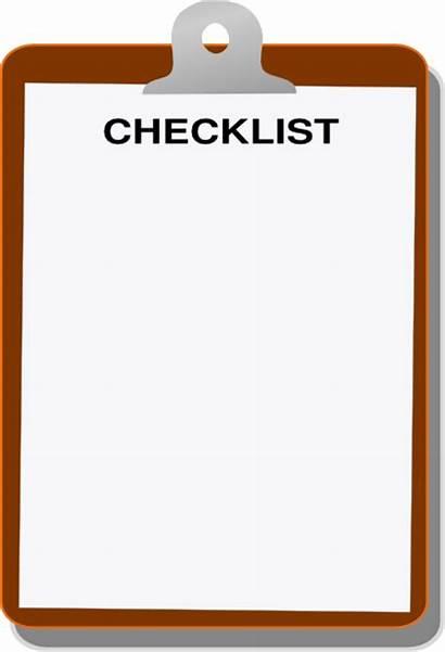 Checklist Font Clip Clipart Clipboard Cliparts Clker