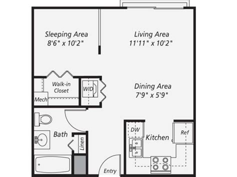 one garage apartment floor plans 287 best images about small space floor plans on
