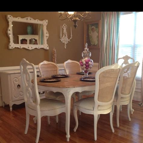 gorgeous french provincial dining set  sale