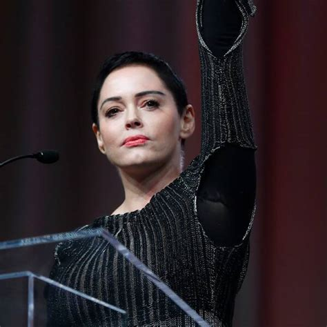Rose McGowan Makes Passionate Plea for Change During First ...