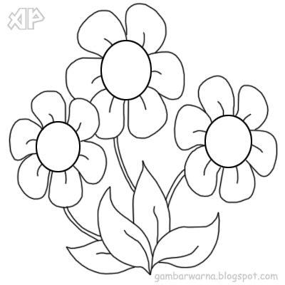 ahmedatheism mewarnai gambar bunga anggrek