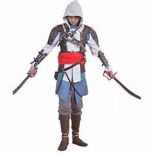 Assassin's Creed IV 4 Black Flag Edward Kenway Cosplay Costume