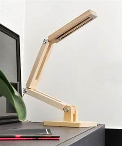 Lampe Design Bois : comment choisir votre lampe de bureau design alin a leroy merlin ~ Teatrodelosmanantiales.com Idées de Décoration