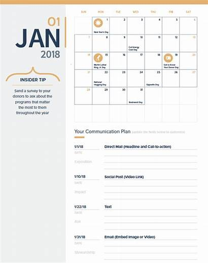 Fundraising Plan Planning Annual Templates 4x Easy