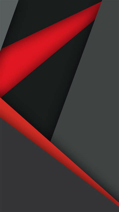 Red and black hd wallpapers for desktop. 750x1334 Material Design Dark Red Black iPhone 6, iPhone 6S, iPhone 7 HD 4k Wallpapers, Images ...