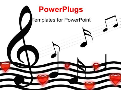 powerpoint template  symbols  hearts  white