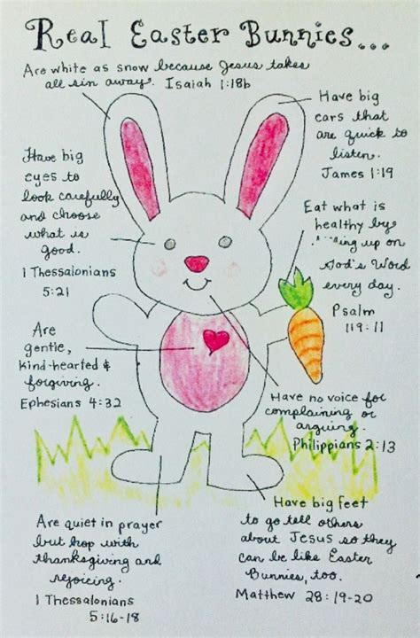 quot real easter bunnies quot easter easter bunny bible verse 330 | 6f22c5a36882751293d2bab3408c967a real easter bunny easter verses