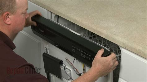 whirlpool dishwasher buttons  working repair