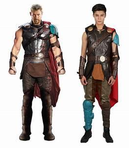 Thor: Ragnarok Thor Costume Black PU Leather Sleeveless ...