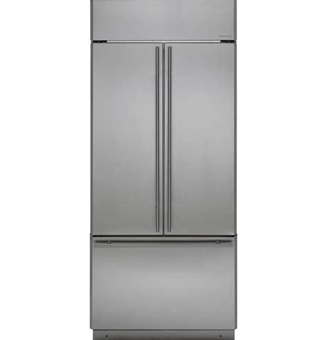zipsnhss ge monogram  built  french door refrigerator  march  french